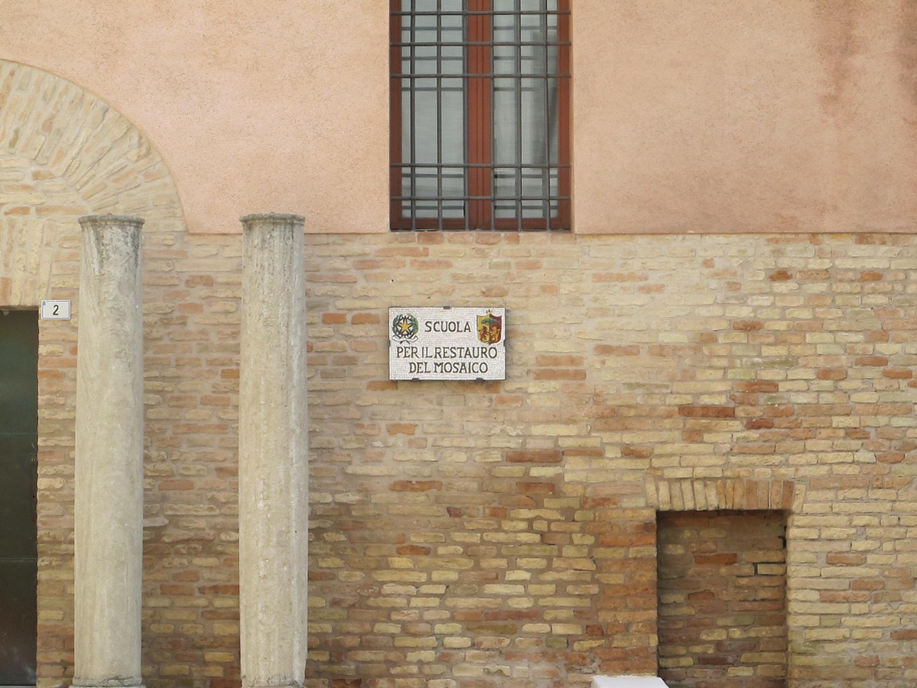 Одна из изветных школ реставрации мозайки