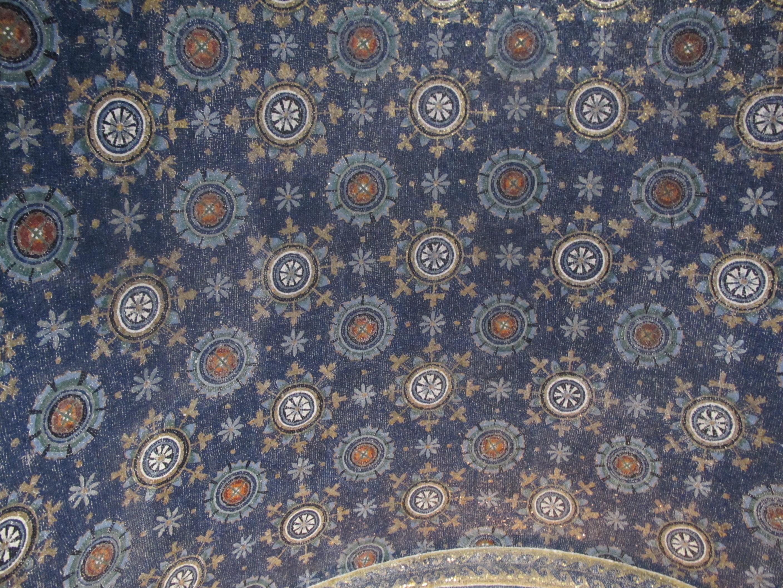 Мозаичный потолок мавзолея Галлы Плацидии
