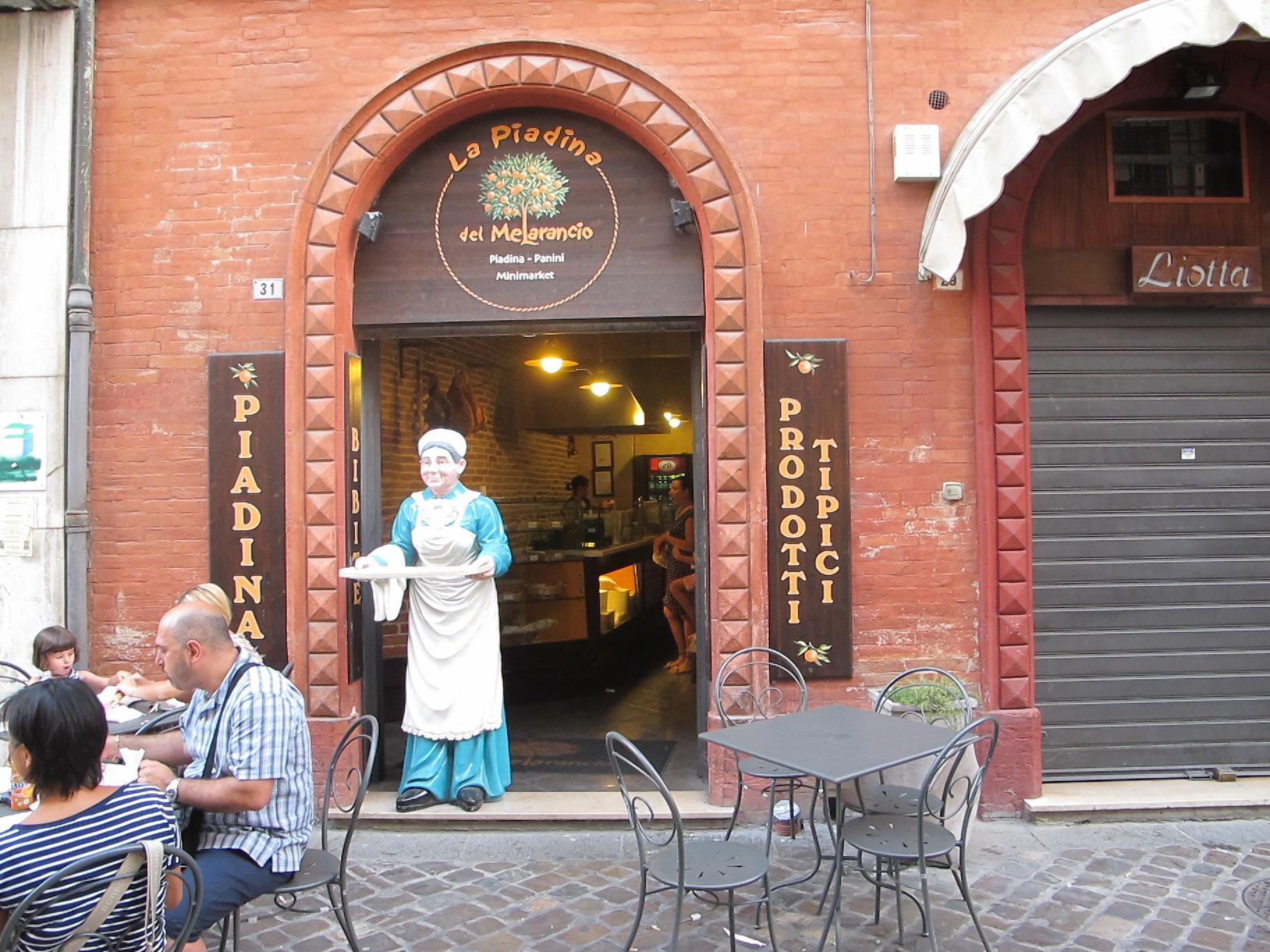 Типичный итальянский ресторанчик